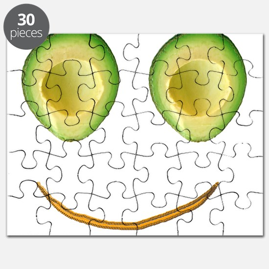 Cute Avocado Face Rieko's Fave Puzzle