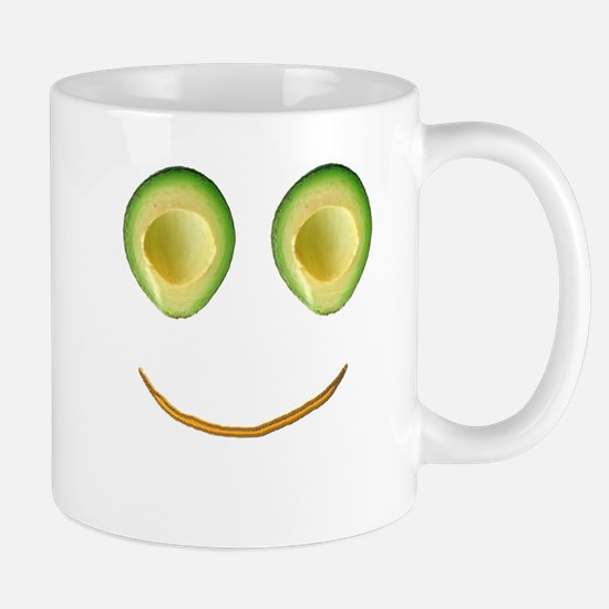 Cute Avocado Face Rieko's Fave Mugs