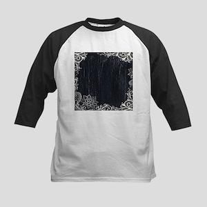 white lace black chalkboard Baseball Jersey