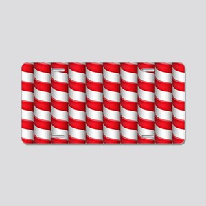 Candy Pattern Aluminum License Plate