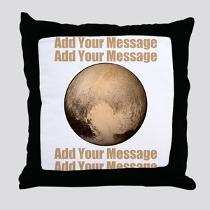 PERSONALIZED Pluto Throw Pillow