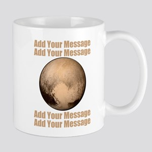 PERSONALIZED Pluto Mugs