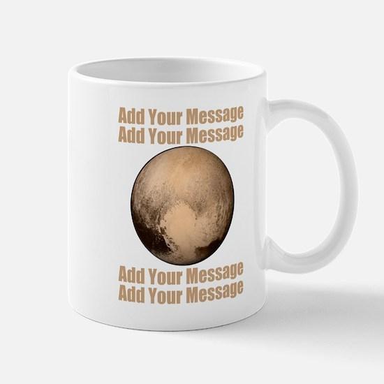 PERSONALIZED Pluto Mugs