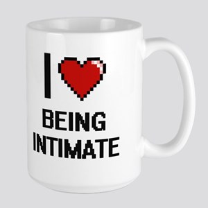 I Love Being Intimate Digitial Design Mugs