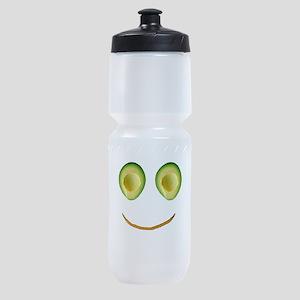 Cute Avocado Face Rieko's Fave Sports Bottle