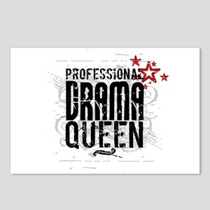 Professional Drama Queen Postcards (Package of 8)