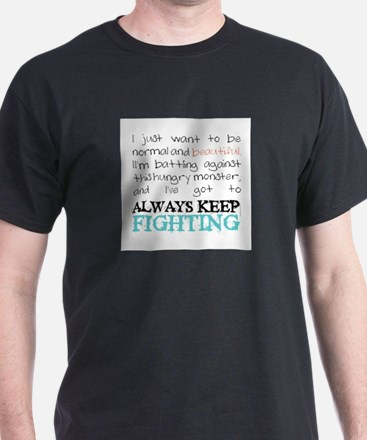 Cool Eating disorder recovery T-Shirt