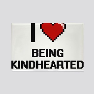 I Love Being Kindhearted Digitial Design Magnets