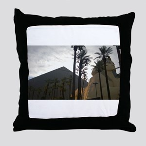 Luxor Las Vegas Night 2015 Throw Pillow