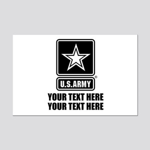 CUSTOM TEXT U.S. Army Mini Poster Print