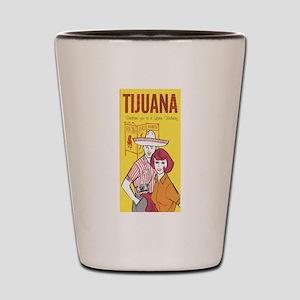 Vintage Tijuana Shot Glass