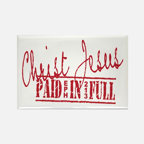 Paid in Full Rectangle Magnet (10 pack)