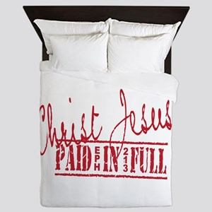 Paid in Full Queen Duvet