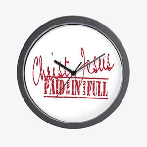 Paid in Full Wall Clock