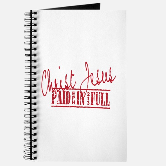 Paid in Full Journal
