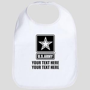 CUSTOM TEXT U.S. Army Bib