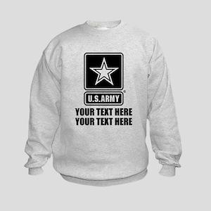 CUSTOM TEXT U.S. Army Sweatshirt