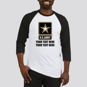 CUSTOM TEXT U.S. Army Baseball Jersey