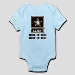 CUSTOM TEXT U.S. Army Body Suit