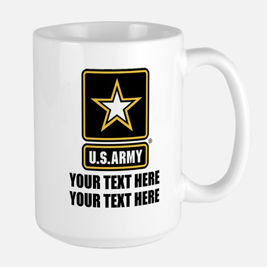 CUSTOM TEXT U.S. Army Mugs