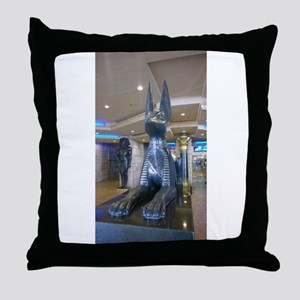 Luxor Las Vegas Anubis 2015 Throw Pillow