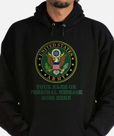 CUSTOM TEXT U.S. Army Hoody