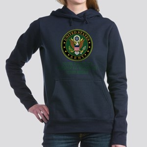 CUSTOM TEXT U.S. Army Women's Hooded Sweatshirt