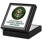 Military Square Keepsake Boxes