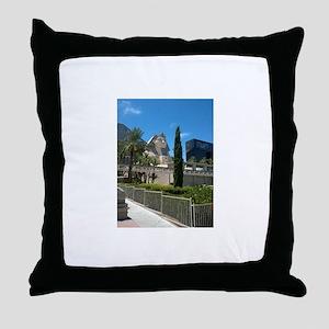 Luxor Las Vegas Blue Sky 2015 Throw Pillow