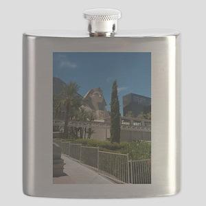 Luxor Las Vegas Blue Sky 2015 Flask