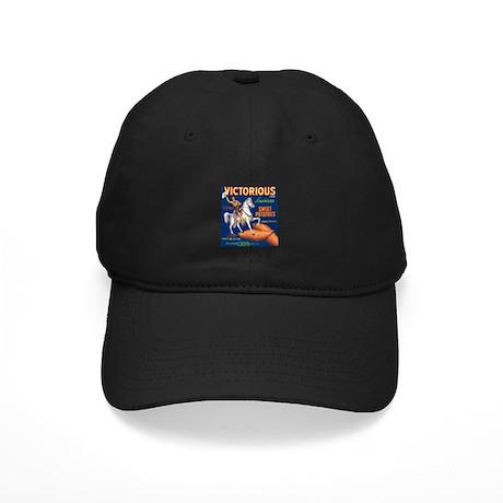 Victorious Fruit Crate Label Black Cap