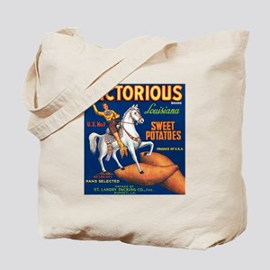 Victorious Fruit Crate Label Tote Bag