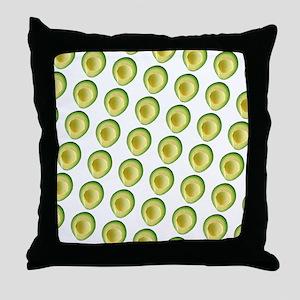 Scrummie Avocado Juliette's Fave Throw Pillow