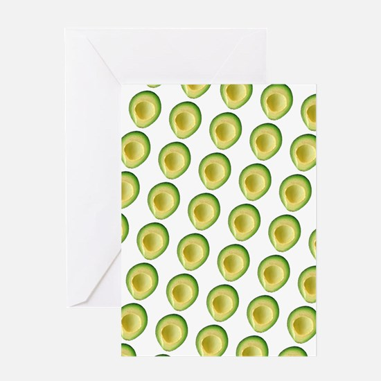 Scrummie Avocado Juliette's Fave Greeting Cards