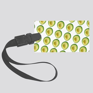 Scrummie Avocado Juliette's Fave Large Luggage Tag