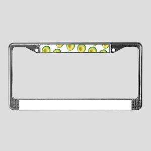 Scrummie Avocado Juliette's Fa License Plate Frame