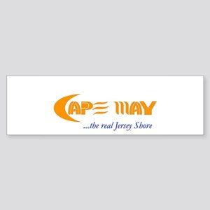 Cape May the Real Jersey Shore Bumper Sticker