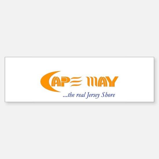 Cape May the Real Jersey Shore Bumper Bumper Bumper Sticker