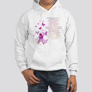 Pink Ribbon, the Fight Hooded Sweatshirt