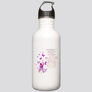 Pink Ribbon, the Fight Stainless Water Bottle 1.0L