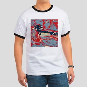 wild lake wood duck T-Shirt