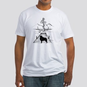 Anniversary Print transparent Fitted T-Shirt