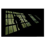 """""""Lurking In The Shadows"""" Large Poster"""