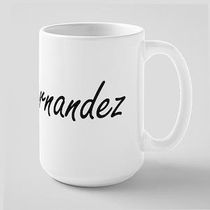 Hernandez surname artistic design Mugs