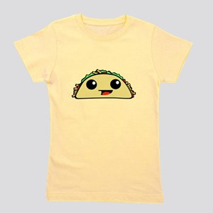 Cute Kawaii Taco Girl's Tee