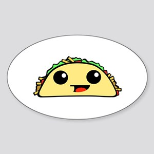 Cute Kawaii Taco Sticker
