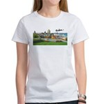 Old Quebec Pano with Signatur Women's T-Shirt