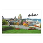Old Quebec Pano with Signatur Postcards (Package o