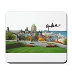 Old Quebec Pano with Signatur Mousepad