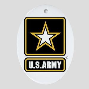 U.S. Army Logo Ornament (Oval)